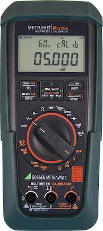 GMC-I MetraCAL MC Kalibrator, Multimeter