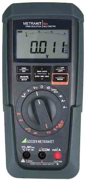 GMC-I MetraHit ISO Multimeter mit Isolationsmesser